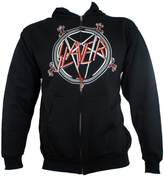 Global Slayer Men's Pentagram Zip Up Hoodie 2XL