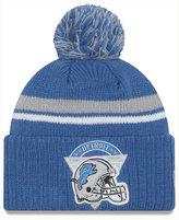New Era Detroit Lions Diamond Stacker Knit Hat