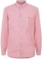 Burberry Gingham Button-Down Collar Shirt
