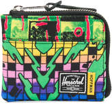 Herschel graphic print wallet