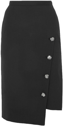 Altuzarra Faro Asymmetric Wool-blend Skirt