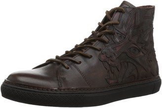 Frye Men's Gates High Wolf Tattoo Fashion Sneaker