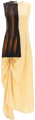 Marni Asymmetrical Dress With Draping