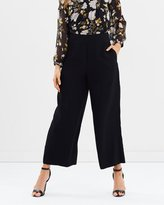 Whistles Stitch Fluid Crop Trousers