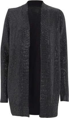 RtA Serge Studded Cotton Cardigan