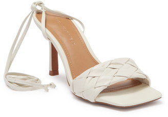 Who What Wear Meara Leather Sandal