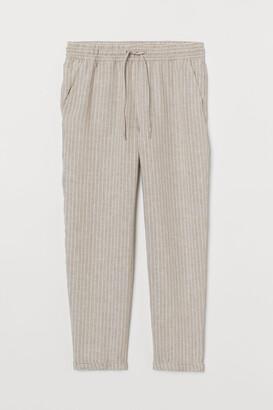 H&M Linen Joggers