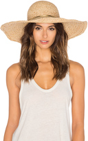 Hat Attack Metallic Raffia Braid Sunhat
