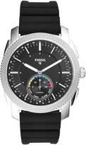 Fossil Q Men's Machine Silicone Hybrid Smartwatch FTW1164