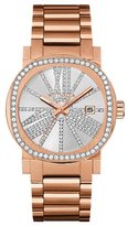 Wittnauer WN4008 Women's Watch Rose Gold-Tone Stainless Steel Crystal