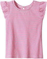 Joe Fresh Toddler Girls' Round Neck Tee, Pink (Size 4)