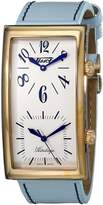 Tissot Men's T56.5.633.39 Heritage Dial Leather Strap Dial Watch