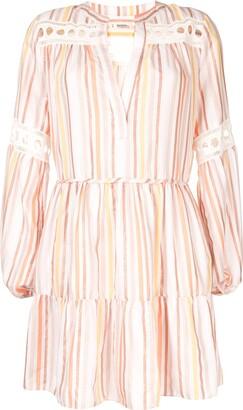 Lemlem Cut-Out Mini Beach Dress