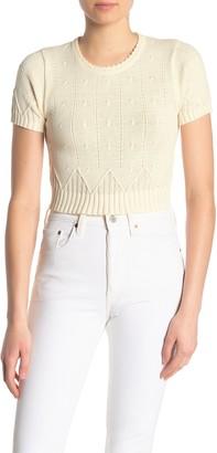 NSR Short Sleeve Avery Sweater