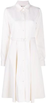 Ports 1961 Long-Sleeved Button-Up Shirt Dress