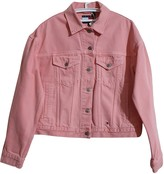 Tommy Jeans Pink Cotton Jacket for Women