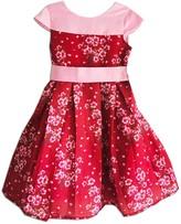 Joe Ella Vera Floral Pleated Dress (Little Girls & Big Girls)