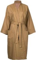 Nehera - 'Carmen' wrap trench coat - women - Cotton/Rayon/Nylon - S