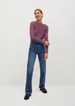 MANGO Crossed back sweater