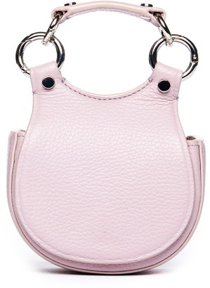 behno Tilda Micro Leather Saddle Belt Bag
