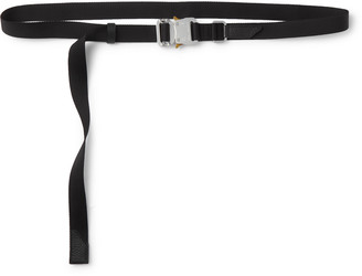 Alyx 2.5cm Rollercoaster Leather-Trimmed Webbing Belt