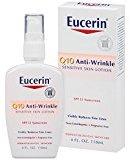 Eucerin Q10 Anti-Wrinkle Sensitive Skin Lotion SPF 15, 4 Ounce