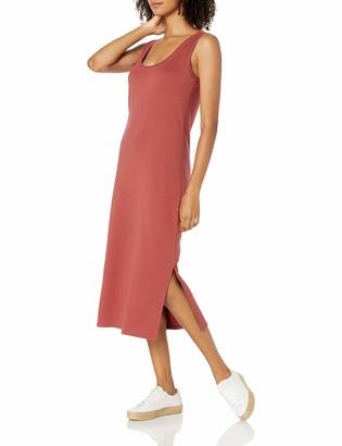Daily Ritual Amazon Brand Women's Pima Cotton and Modal Interlock Tank Dress