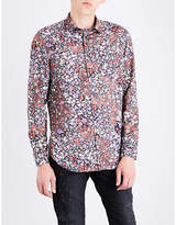 Diesel S-nico Regular-fit Floral-print Shirt
