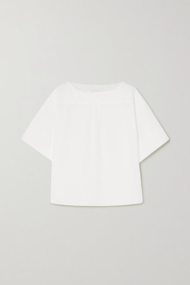See by Chloe Cotton-poplin Top - White