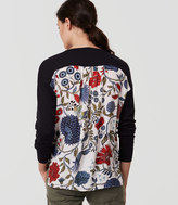 LOFT Primavera Mixed Media Sweater