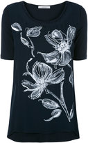 D-Exterior D.Exterior - floral embroidered top - women - Silk/Cotton/Linen/Flax/Viscose - M