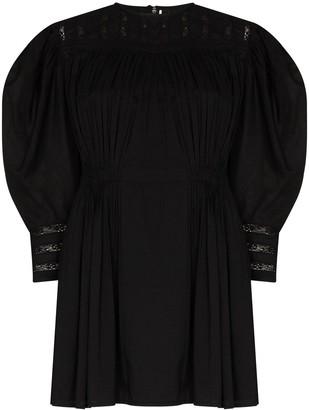 Mimi Prober Austen Gigi lace embroidered mini dress