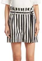 3.1 Phillip Lim Striped Cotton Shorts