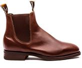 R.M. Williams - Craftsman Boot - Dark Tan Leather - 11 uk