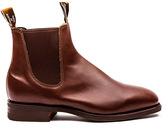 R.M. Williams - Craftsman Boot - Dark Tan Leather - 8.5 uk