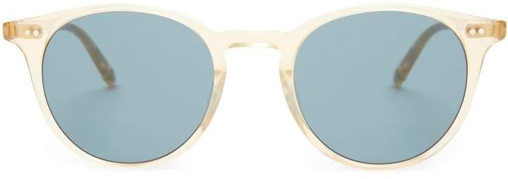 Garrett Leight Clune 47 round-frame sunglasses