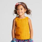Genuine Kids from OshKosh Toddler Girls' Lace Top - Genuine Kids® from OshKosh® Autumn Yellow
