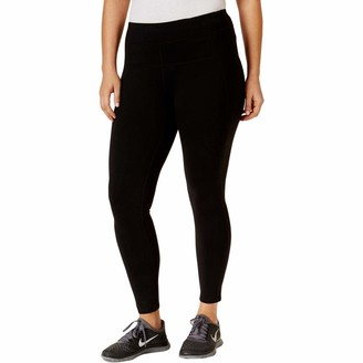 Calvin Klein Women's Plus-Size High Waist Ankle Legging