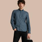 Burberry Tartan Cotton Twill Shirt
