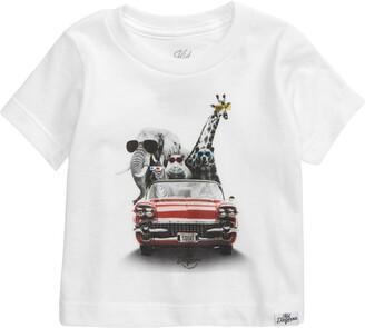 Kid Dangerous Zoo Mobile Graphic T-Shirt