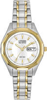 Citizen Eco-Drive Womens Two-Tone Watch EW3144-51A