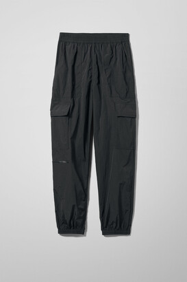 Weekday Max Sporty Trousers - Black