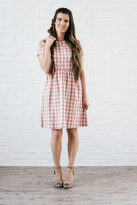 Shabby Apple Kai Dress Pink & Cream