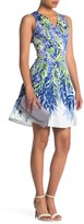 Maggy London Floral Sleeveless Dress (Petite)