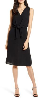 Chelsea28 Sleeveless Tie Front Dress