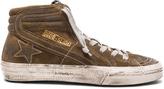 Golden Goose Deluxe Brand Suede Slide Sneakers