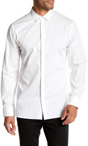 Helmut Lang Long Sleeve Solid Regular Fit Shirt