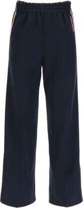 See by Chloe JOGGER PANTS WITH SIDE BANDS M Blue