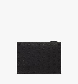 MCM Tivitat Document Holder in Monogram Leather