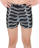 Danskin Rich Black Sparkle Shorts - Girls